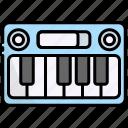 keyboard, music, instrument, piano, song