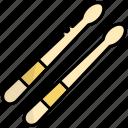 drumstick, drum stick, drum, music, instrument, equipment