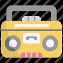 boombox, stereo, music, audio, speaker
