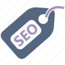 seo, seo icons, seo pack, seo services, tag, web design icon