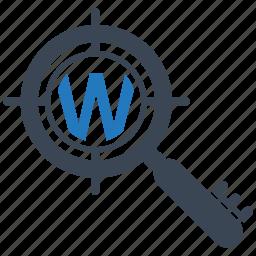 keyword, mobile marketing, seo icons, seo pack, seo services, targeting, web design icon