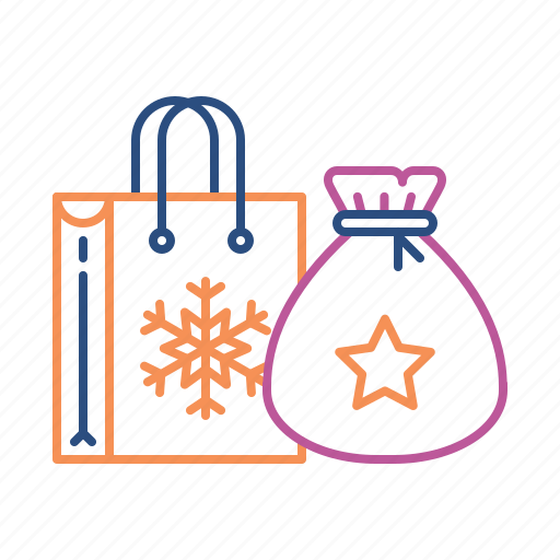 bag, celebration, gift, party, present, santa icon