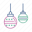 ball, christmas, decoration, disco, party icon