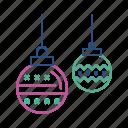 ball, christmas, decoration, disco, party
