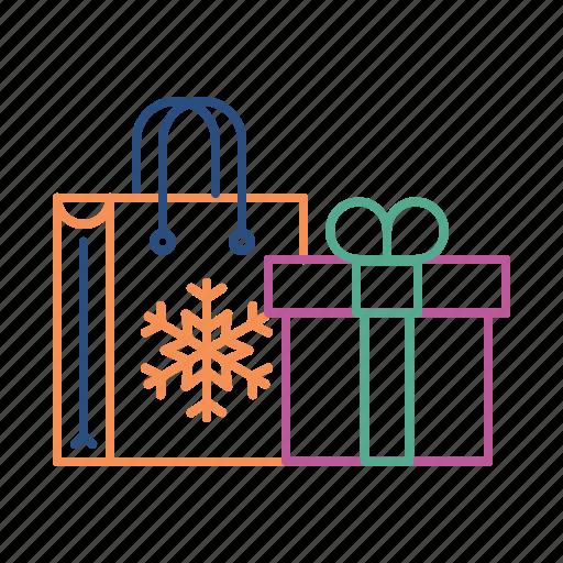 bag, birthday, celebration, gift, party, present icon