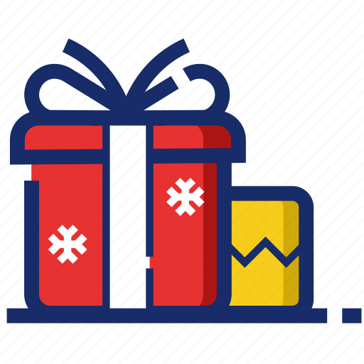 christmas, gift, new year, package, xmas icon