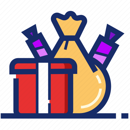 candies, christmas, gifts, new year, package, xmas icon