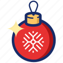christmas, christmas ball, new year, ornament, tree toy, xmas icon