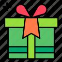 gift, present, box, package, birthday