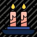 candles, light, flame, illumination, ornamental