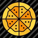 pizza, fast, food, italian, junk, restaurant