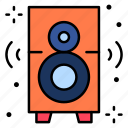 speaker, sound, woofer, subwoofer, audio icon
