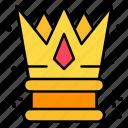 crown, king, royalty, royal, monarchy icon