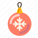 ball, celebration, christmas, christmas ball, gift, holiday, holidays, new, winter, xmas, year. holiday icon