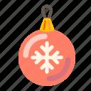 ball, celebration, christmas, christmas ball, holiday, xmas icon
