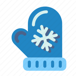 christmas, gantlet, gauntlet, mitten, muffle, muffler, new, snowflake, winter, year. holiday icon