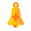bell, bellflower, campanula, christmas, handbell icon
