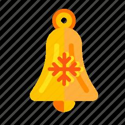bell, bellflower, bluebell, campanula, christmas, handbell, harebell, new, year. holiday icon