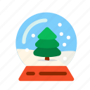 ball, christmas, christmas tree, new, snow, snowflake, tree, winter, xmas, year. holiday icon