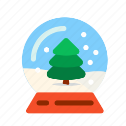 ball, christmas, christmas tree, new, snow, snowflake, tree, winter, xmas, year. holiday icon