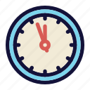 clock, countdown, midnight, new year eve, party, time, twelve icon