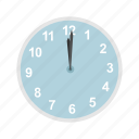 12 midnight, clock, holidays, midnight, new year, time icon
