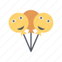 balloon, lollipop icon