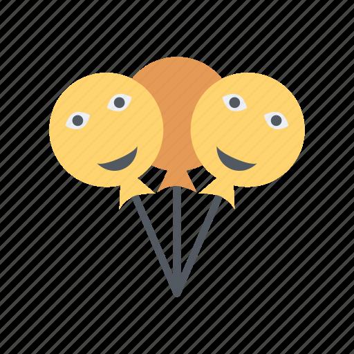 balloon, lollipop icon