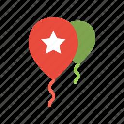 balloon, ornament icon