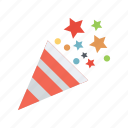confetti, ornament icon