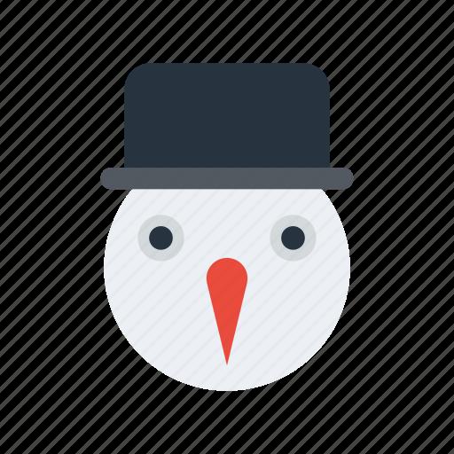 snow, snowman icon