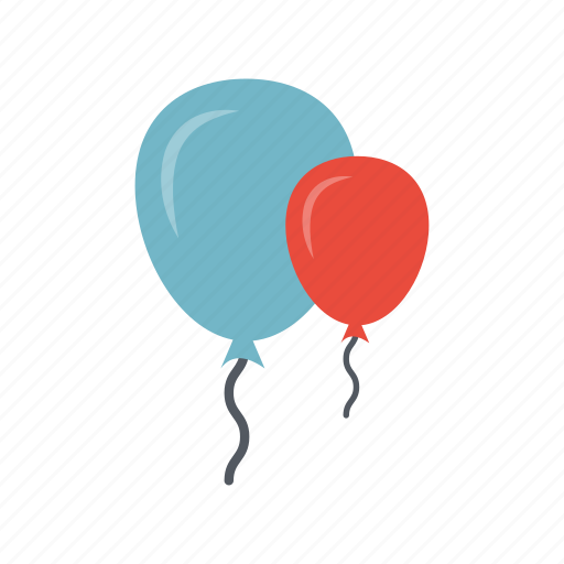 air, balloon, chat, holiday, ornament, party, speech icon