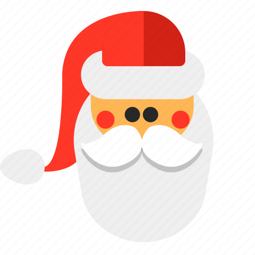 hat, new year, santa, santa claus icon