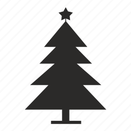 fir, home, new, star, year icon
