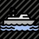 boat, cruise, sail, ship icon