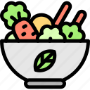 food, healthy, meals, vegetables icon