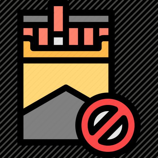 cigarette, nicotine, quit, smoking icon