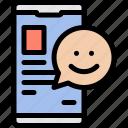 digital, media, news, smartphone icon