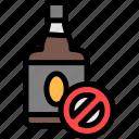 alcohol, quit, rum, whiskey icon