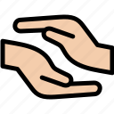 care, charity, hand, handshake icon