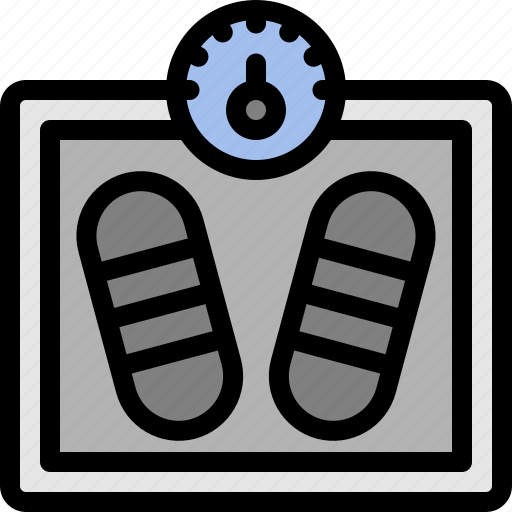 diet, scale, weight, weight scale icon