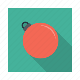 ball, bauble, decoration, flower, ornament, ornaments, winter icon