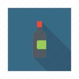 bottle, cocktail, drink, kitchen, restaurant, water icon
