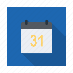appointment, calendar, clock, month, plan, time, year icon