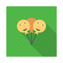 balloon, celebration, decoration, lollipop, ornament, party icon