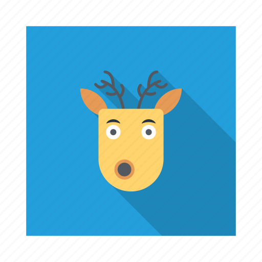 cold, deer, snow, weather, winter, xmas icon