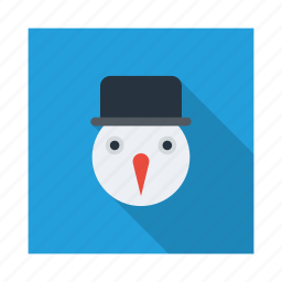 cloud, cold, ice, snow, snowman, weather, winter icon