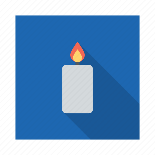 birthday, candle, celebration, decoration, lamp, light icon