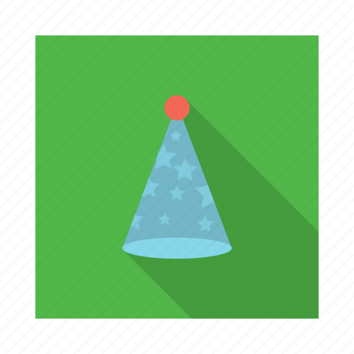 birthday, christmas, holiday, ornament, party, party hat icon
