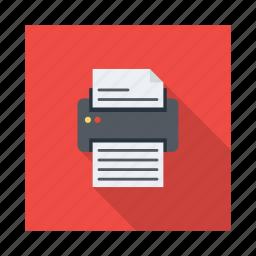 copy, document, paper, print, printer, scanner, sheet icon